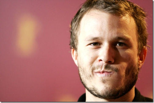 Retrato Heath Ledger