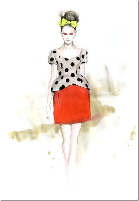 Fashion Ilustração  Caroline Andrieu  Portfólio (3)
