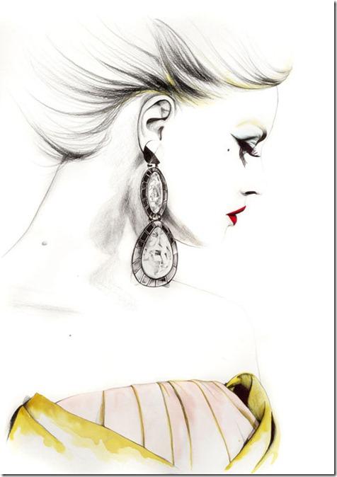 Fashion Ilustração  Caroline Andrieu  Portfólio (6)