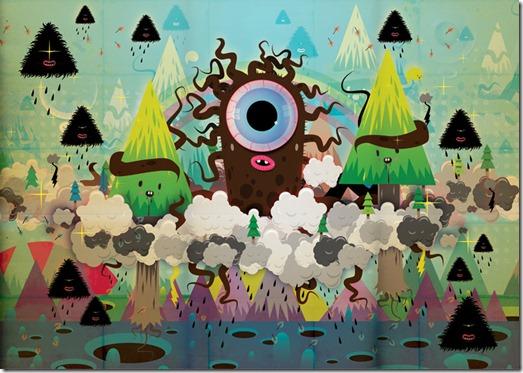 Poked estudio de art design gráfico 3d ilustração animação (22)