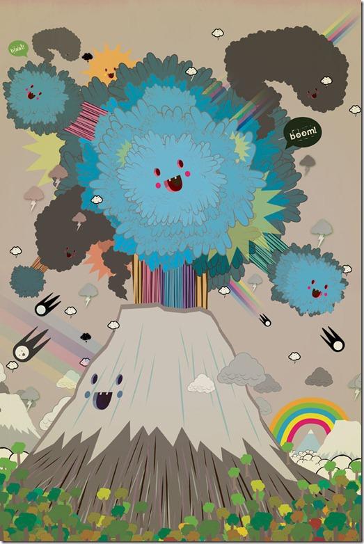 Poked estudio de art design gráfico 3d ilustração animação (14)