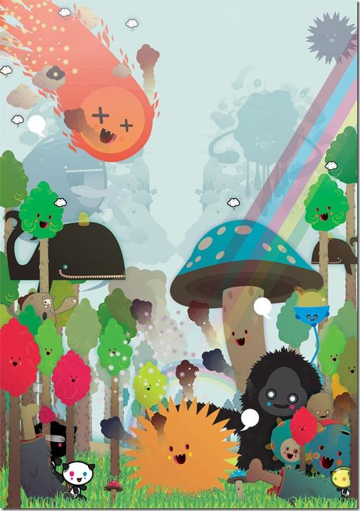 Poked estudio de art design gráfico 3d ilustração animação (29)