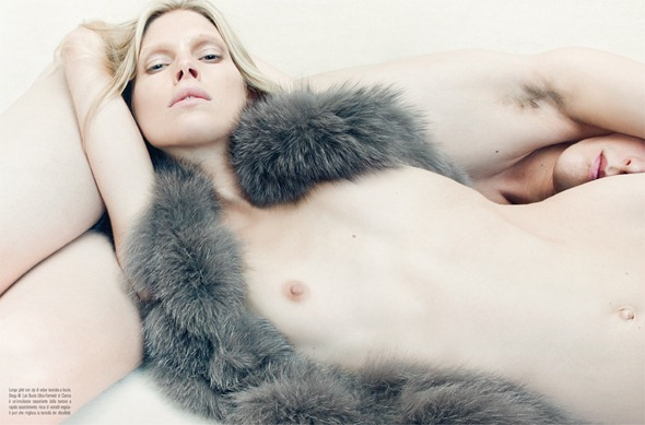 Vogue Itália Editorial Venus in Furs Fotos by Steven Meisel (3)