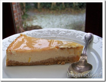 cheese cake citron morceau 1