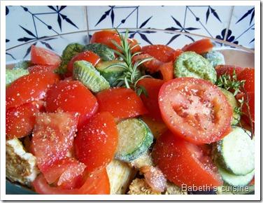 légumes à confire