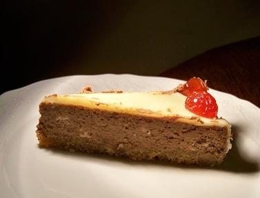 cheese cake choco