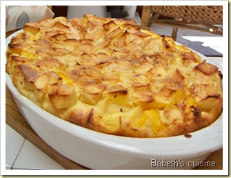 clafoutis pommes nectarines 1