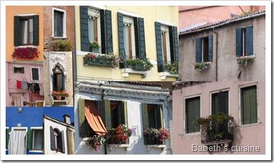 fenêtres à Venise