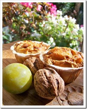 muffins fruits séchés et fruits