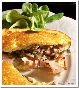 croque st agur champignons jambon italien 2