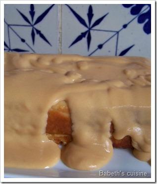 gateau très pommes sauce caramel beurre salé