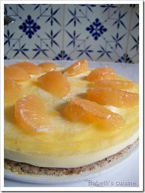 dacquoise noisettes crème légère pamplemousse 2