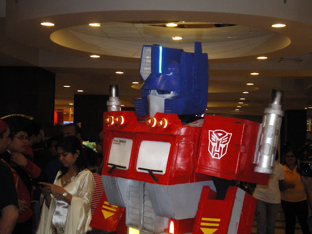 Transformers Optimus Prime Foto Cosplay
