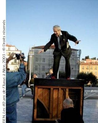 BEN, Les 40 ans de Fluxus à Nice, 2003