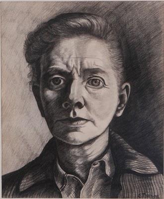 Charley Toorop, Autoportrait, 1943