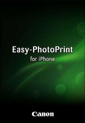 Canon Easy-PhotoPrint pour iPhone