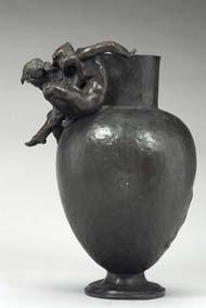 Auguste Rodin et Jules Desbois, Projet de vase décoratif, Paris, musée Rodin