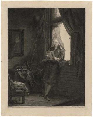 Rembrandt Harmensz. van Rijn, Portrait de Jan Six - Fondation Custodia