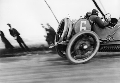 Jacques Henri Lartigue, Delage car. ACF Grand Prix, June 26, 1912. Photograph by JH Lartigue
