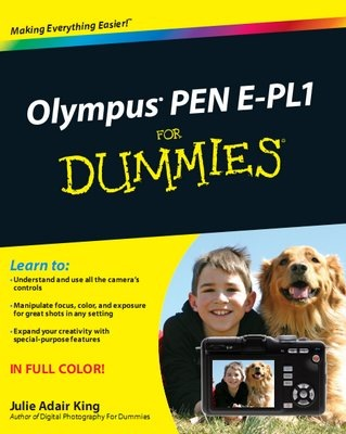 Olympus PEN E-PL1 For Dummies Guide