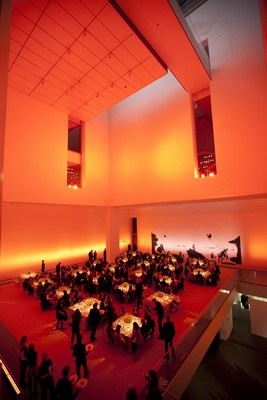 The MoMA Atrium during 2010 Film Benefit