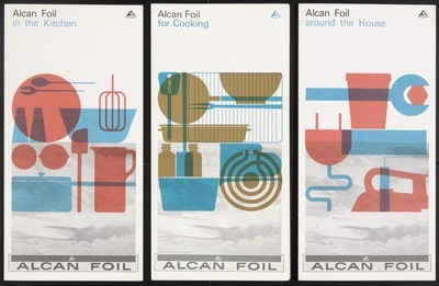 Rolf Harder, Alcan Foil Brochures for the Aluminium Company of Canada, c. 1960-1962