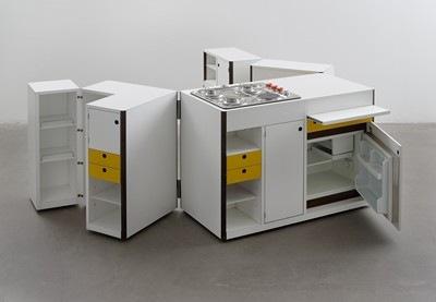 Virgilio Forchiassin, Mobile Kitchen Unit, 1968.