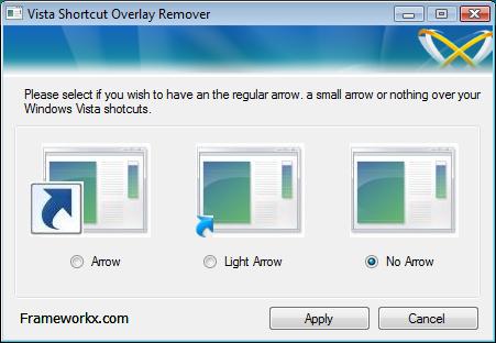 Cómo eliminar las flechas de accesos directos en windows 7