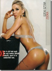 Sexy Star Zsoka Kapocs CKM Magazine photos (4)