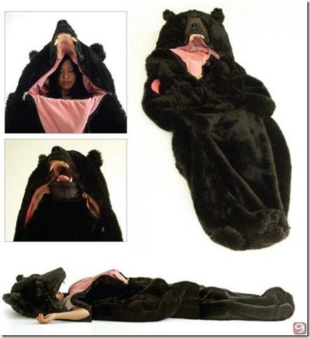 ayı uyku tulumu