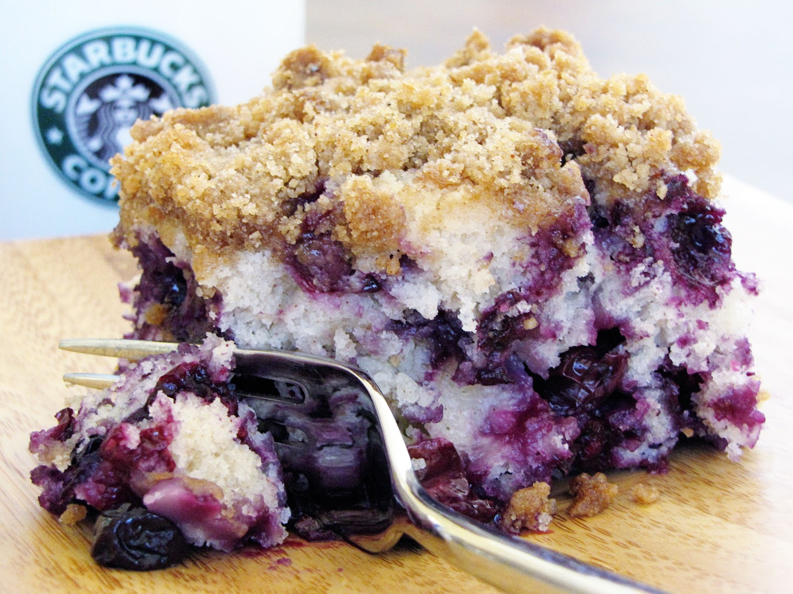 Blueberry Overload Coffee Cake Recipe — Dishmaps