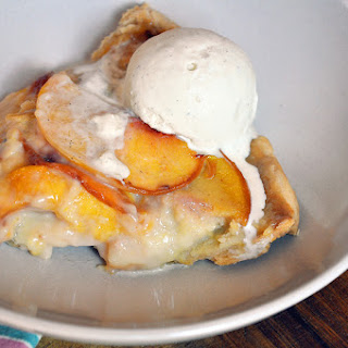 Grandmother Borden's Peach Custard Pie (if she was southern!)
