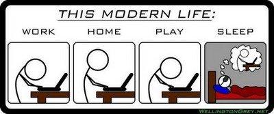 Modern life!