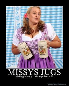 missy's jugs!