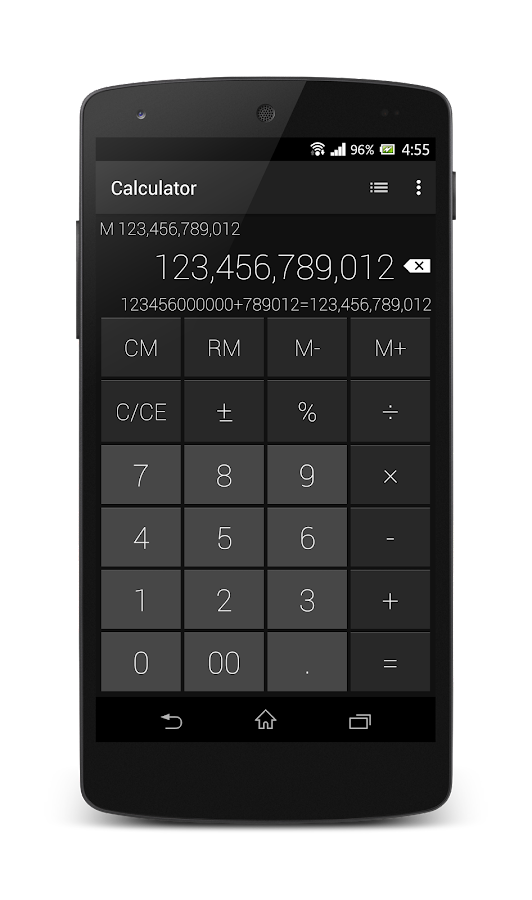 Calculator - Simple & Stylish Screenshot 1