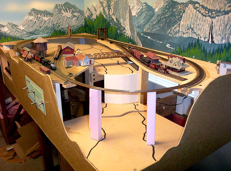 2 39 x 4 39 n scale layout the internet 39 s for N scale bedroom layout
