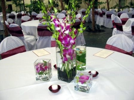 reception table decorations wedding