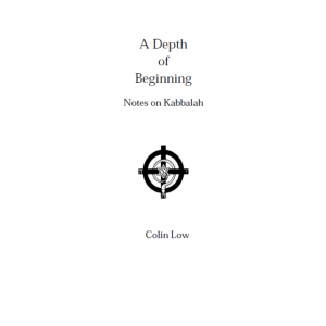 A Depth Of Beginning Notes On Kabbalah Cover