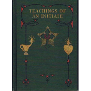 Teachings Of An Initiate Cover
