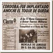 Cordobazo - clarin