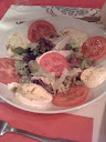 La salade tomates Mozzarella