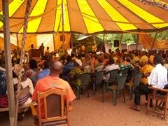 Badalabougou Tent Church