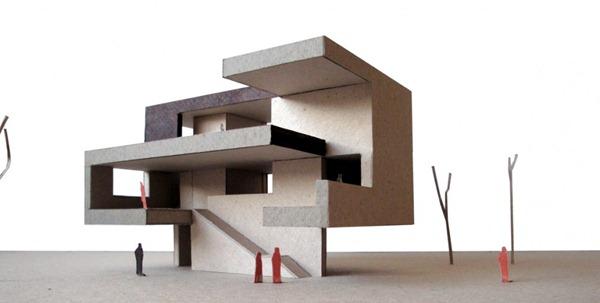 Proyectos arquiam for Casa minimalista maqueta