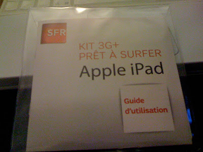 SFR kit 3G+ for iPad