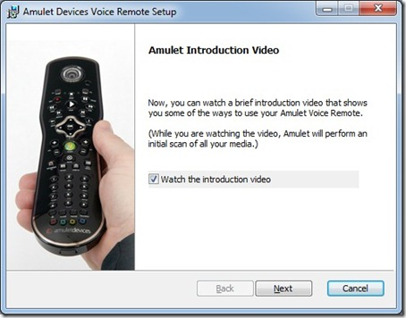 The Media Center Blog: Amulet Voice Remote Control - Part1