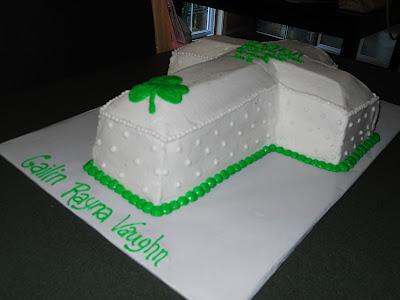 Celtic Cross Christening Cakes