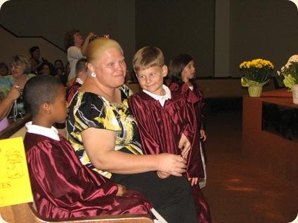 Matthew's Pre-K Graduation 008