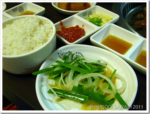 MARU SAUCES AND GARNISHES© BUSOG! SARAP! 2011