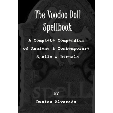 The Voodoo Doll Spellbook Cover