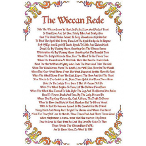 Exegesis On The Wiccan Rede Cover